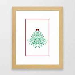 misteltoe Framed Art Print