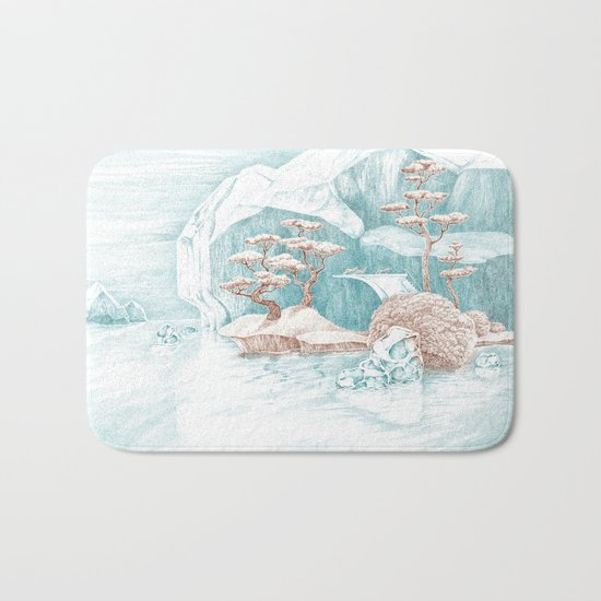 Arctic Mirage Bath Mat