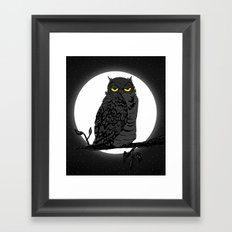 Night Owl V. 2 Framed Art Print