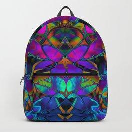 Floral Fractal Art G308 Backpack