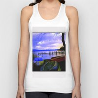 boats Tank Tops featuring Boats by Esther Soendergaard