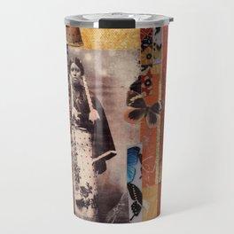 Butterfly Woman Travel Mug