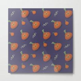 Halloween is coming I Pattern II Metal Print