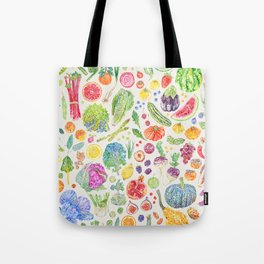 Seasonal Harvests - Neutral Tote Bag