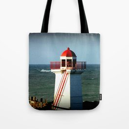 Lady Bay Lighthouse Tote Bag