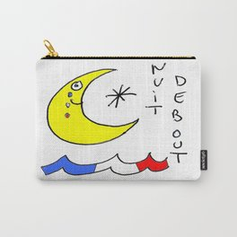 Nuit debout (Standing Night) Carry-All Pouch