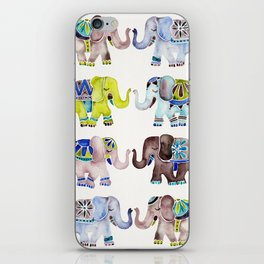 Elephant Collection – Cool Palette iPhone Skin