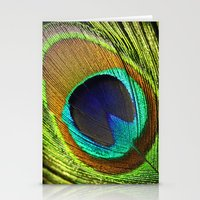 feathers Stationery Cards featuring feathers by mark ashkenazi