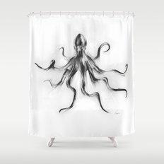 King Octopus Shower Curtain