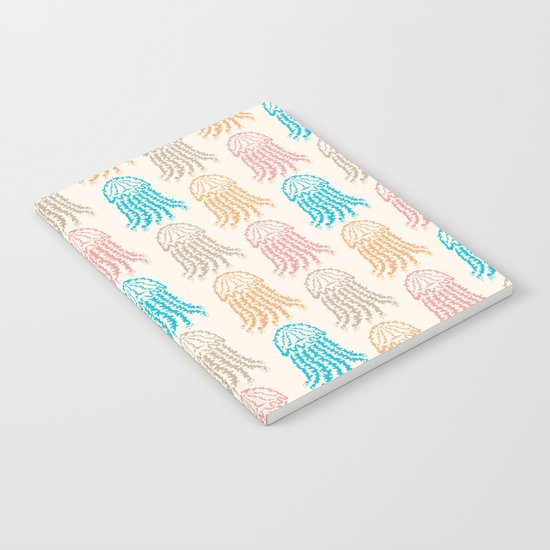 Pastel Marine Pattern 02 Notebook