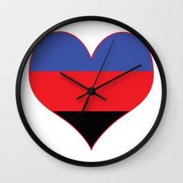 Polyamorous Heart Wall Clock
