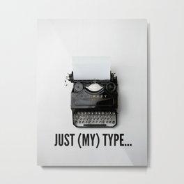 writer life Metal Print