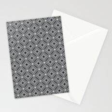 Diamonds in Smoke Stationery Cards