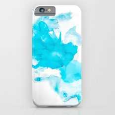 Turquoise splash Slim Case iPhone 6s