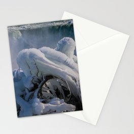 icicle curve Stationery Cards