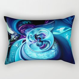 Into The Unknown XCIX Rectangular Pillow