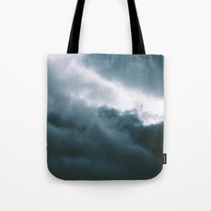 Clouds X Tote Bag