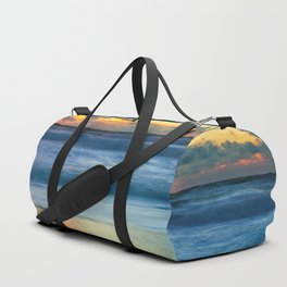 Sea storm approaches Duffle Bag