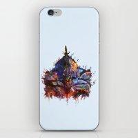 neon genesis evangelion iPhone & iPod Skins featuring Evangelion by ururuty