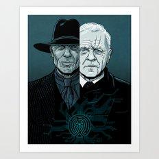 WEST 2 Art Print