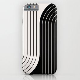 Two Tone Line Curvature VIII  iPhone Case