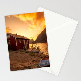 Sunset at The Coast Stationery Cards