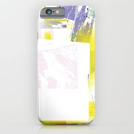 Abstract Border iPhone Case