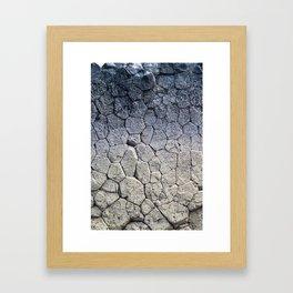 Nature's building blocks Framed Art Print