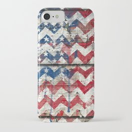 American Chevrons Flag. iPhone Case
