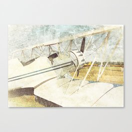 Flight of Fancy // Antique Airplanes Canvas Print