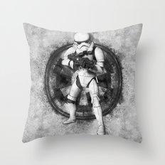 Galactic Empire Stormtrooper Street Art - Star.Wars Throw Pillow