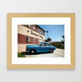 Harmony Terrace Los Angeles California Framed Art Print