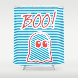 Ghost, Boo! Shower Curtain
