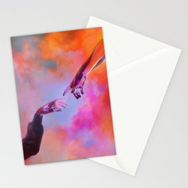 La Création d'Adam - Dorian Legret x AEFORIA Stationery Cards