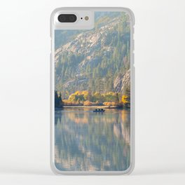 Morning at Silver Lake Clear iPhone Case