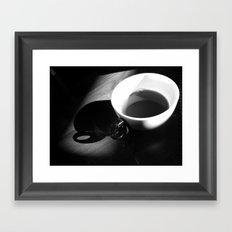 Tea and Light Framed Art Print