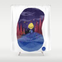 skeletor Shower Curtains featuring Skeletor is love by David Pavon