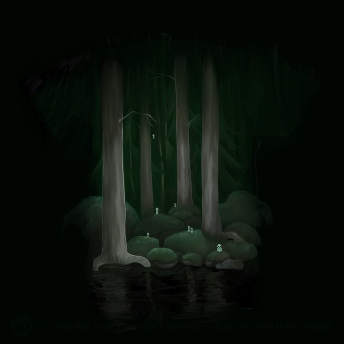 Ancient forest Comforters