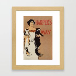 Harper's May 1898 Framed Art Print