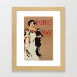 Harper's May 1898 Framed Art Print