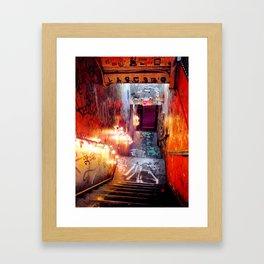 Kiosk-NYC Framed Art Print