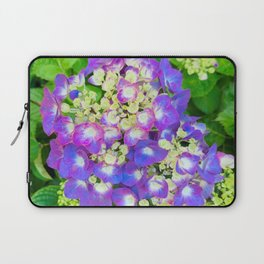 Purple Hydrangea photograph Laptop Sleeve