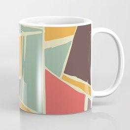 Broken color marble tiles Coffee Mug