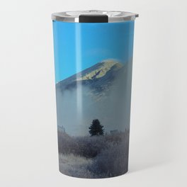 Misty Morning in the Mountains Travel Mug