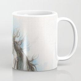 Fighting horses Coffee Mug