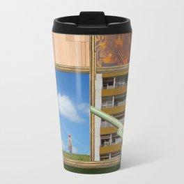 An der Schwelle zur Freiheit · a day with Magritte 2 Travel Mug