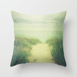 Finding Calm Throw Pillow