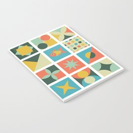 Geometric pattern #2 Notebook