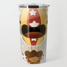 Chestnut Girl Balloon!!! Travel Mug