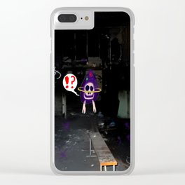 Burnt Room Clear iPhone Case